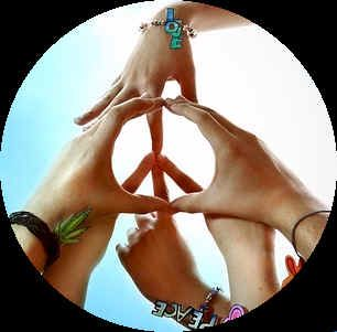 Image result for yoga peace sign