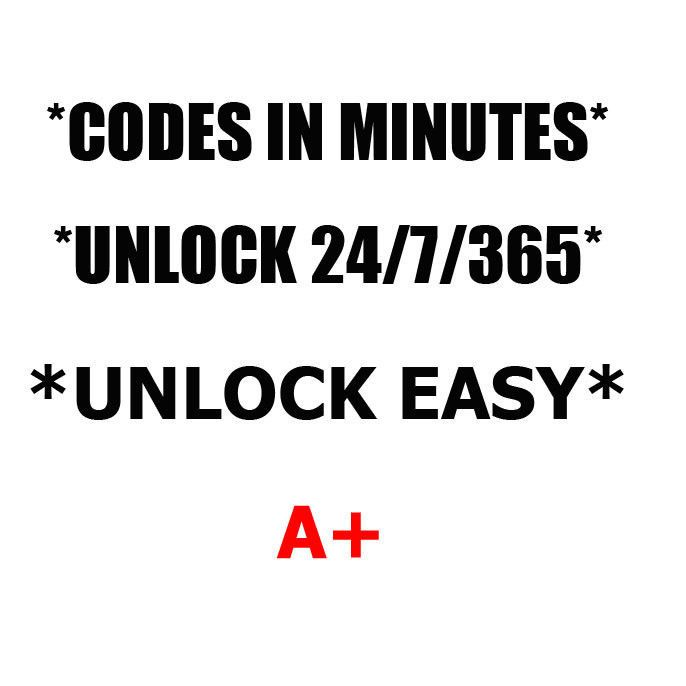 Details about Unlock code Blackberry Bold 9000 9650 9700