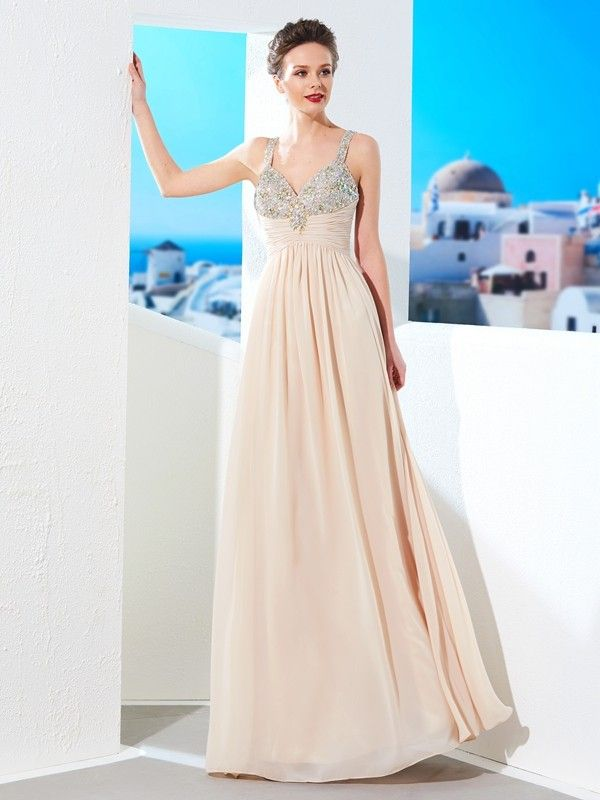 Hebeos Style 70970 High Neck Long Prom Dress With Sequins Adorning