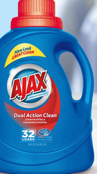 2 1 Ajax Any Size Laundry Detergent Coupon Walmart Deal With