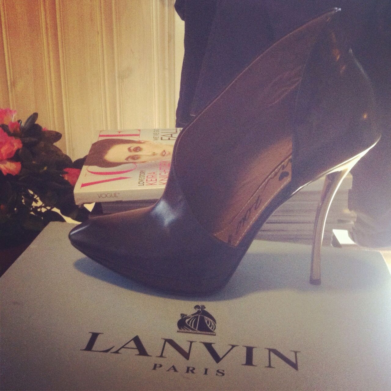 #Lanvin asymmetrical pumps. I wanted them for a long time, and finally found them online :)