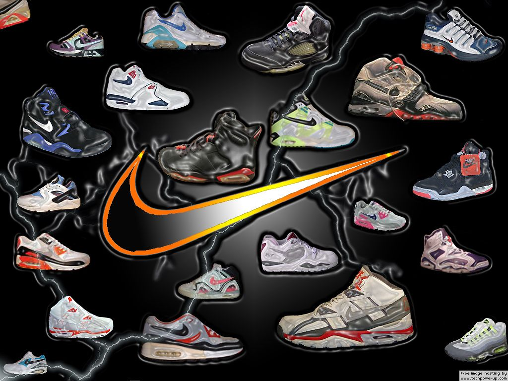 Wallpaper Nike Logo Normal