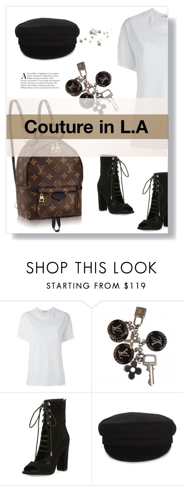 """""""Couture in L.A"""" by out-style ❤ liked on Polyvore featuring Louis Vuitton, T By Alexander Wang, Kendall + Kylie and Étoile Isabel Marant"""