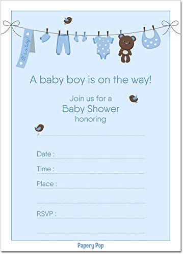 30 Baby Boy Shower Invitations With Envelopes - Fill In S... https://www.amazon.com/dp/B01MSZY5MF/ref=cm_sw_r_pi_dp_x_aqPMybHB412ZZ