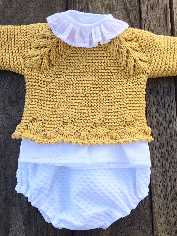 f91c7ebd7 tutorial puntomoderno.com  diy  como tejer jersey de bebé  how to knit