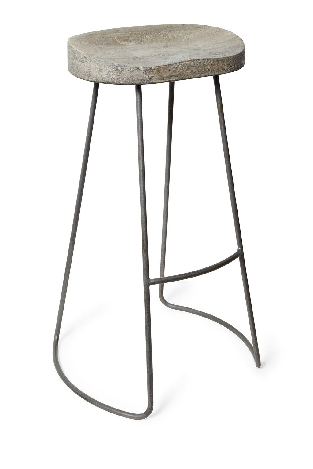 Roger Large Bar Stool Wooden bar stools, Bar stool