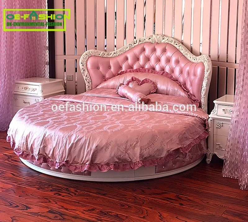 oe fashion royal king size round bed on sale new model king size bed in china bed supplier. Black Bedroom Furniture Sets. Home Design Ideas