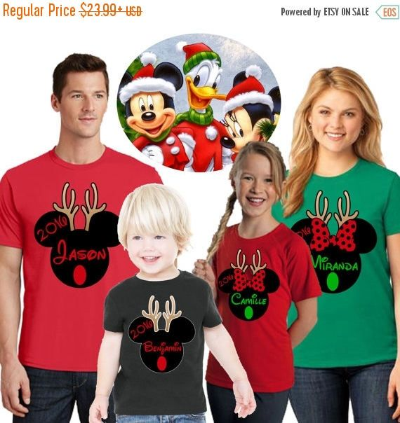 15 off mickey mouse inspired christmas shirts disney christmas family shirtsminnie mouse shirtsantlers christmas shirtsfamilymickeyantl