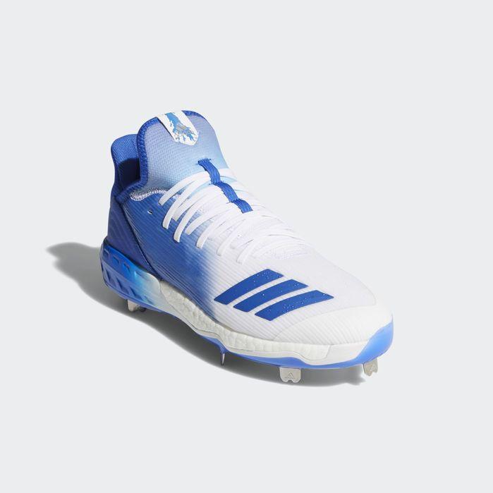 Adidas Boost Icon 4 Cleats Herren Baseball Schuhe Weiß
