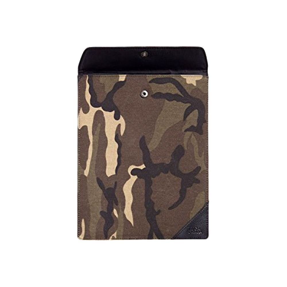 Camouflage Leather iPad Case Waterproof Vegan Soft Cover Padded Protective NEW…
