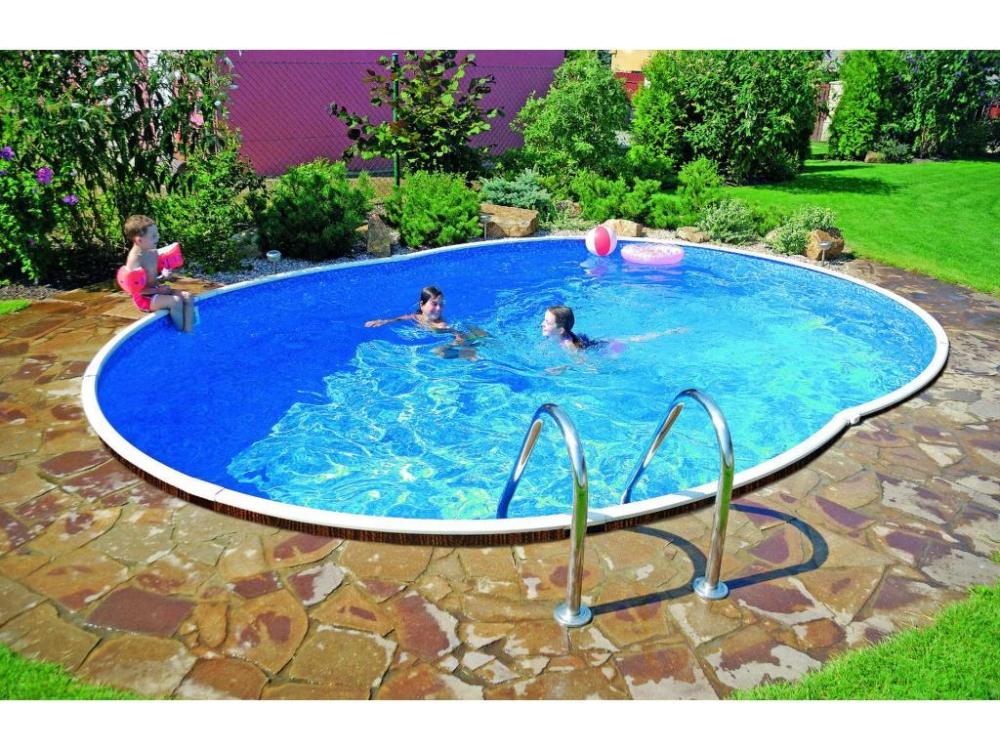 Legkeresettebb Webáruház Azuro Frame De Luxe 5 5 3 7 M Es 1 2 M Mély Medence Szkimmer Kiképzéssel Fólia Nélk Cheap Inground Pool Backyard Resort Garden Pool