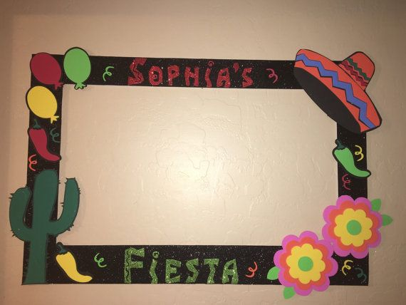 photo frame party prop to take pictures by titaspartycreations ...