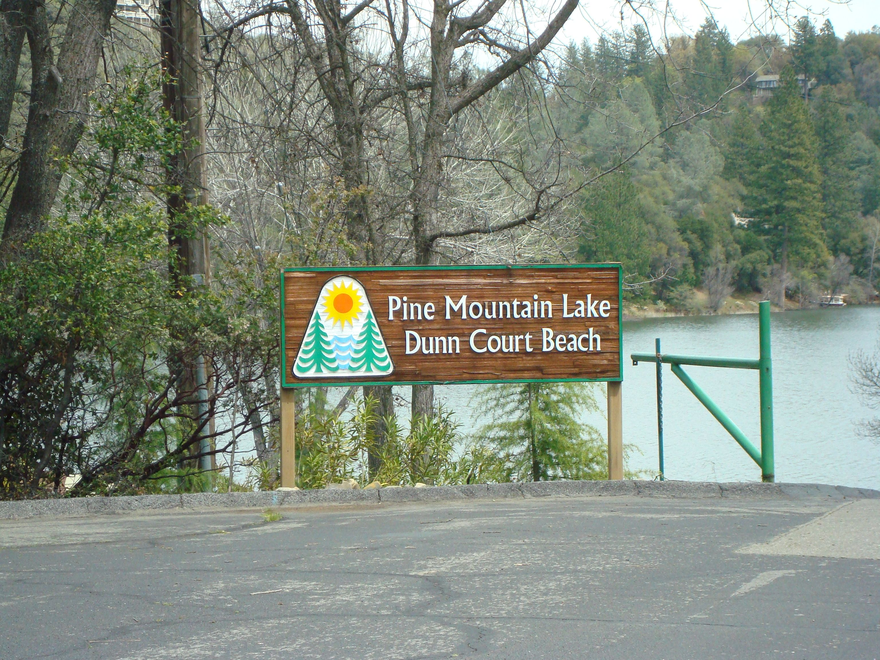 Pine Mountain Lake Dunn Court Beach Entrance Is The Smallest And Quietest