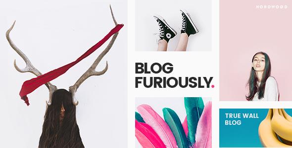 DAZE - A True Wall-Style Masonry Blog WordPress Theme