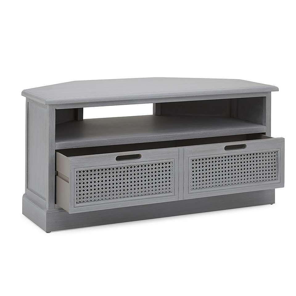 reputable site 1887d f232f Lucy Cane Grey Corner TV Stand | Furniture in 2019 | Corner ...