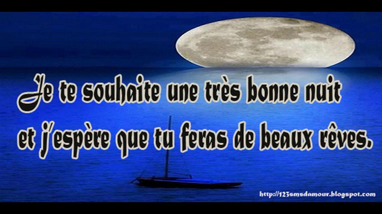 Poeme Damour Pour Dire Bonne Nuit Sms Youtube Dire