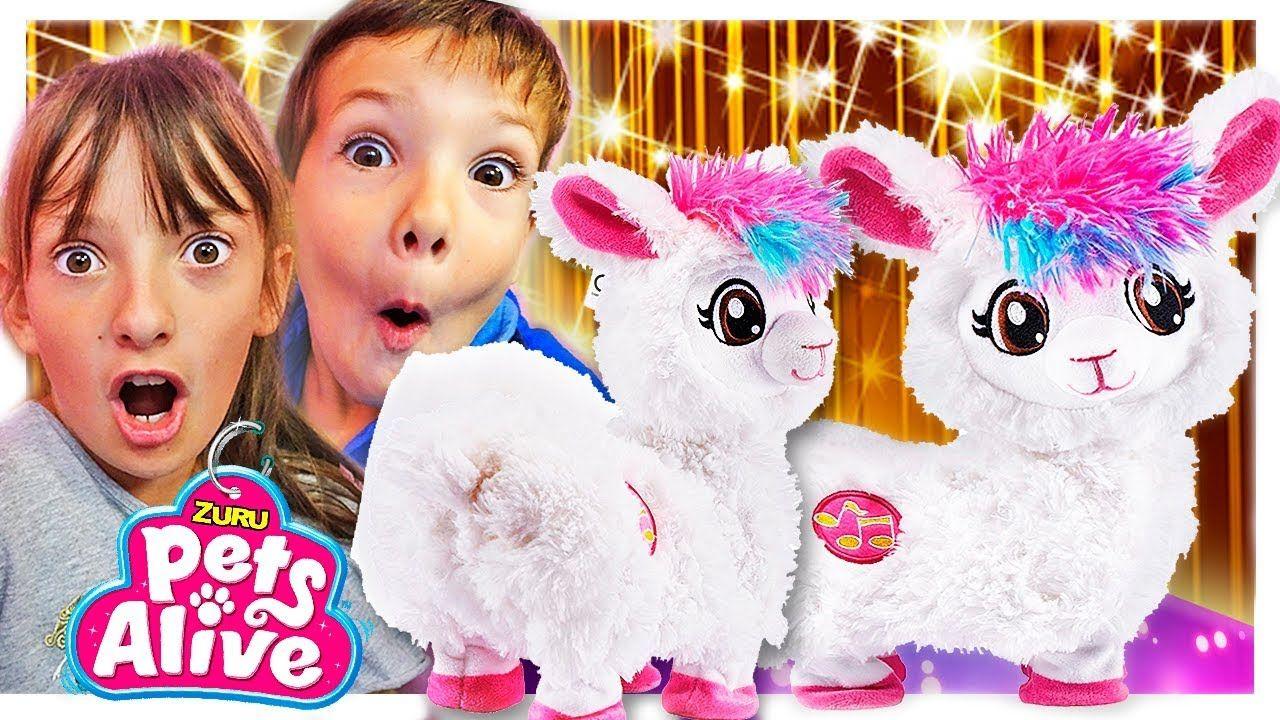 Kids Toys Unboxing W/ Zuru Boppi Dancing Llama Pets Alive
