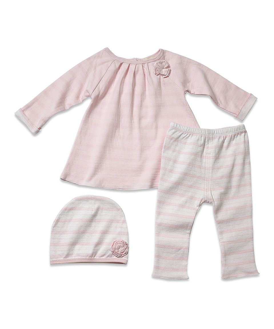 Little Youngster Pink Stripe Top Set - Infant & Toddler by Little Youngster #zulily #zulilyfinds