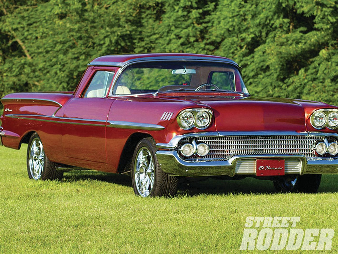 Chevy Never Made A 58 El Camino But If They Had Made This Car It