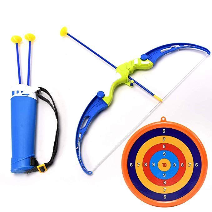 popular brand free shipping watch Amazon.com: WonderPlay Kids Archery Bow and Arrow Toy Play ...