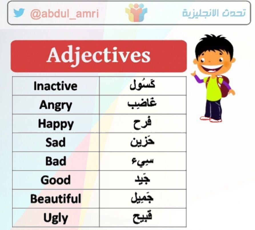 Pin By Nadih Koko On تعلم الانجليزي Learning Arabic Learn Arabic Language Teach Arabic