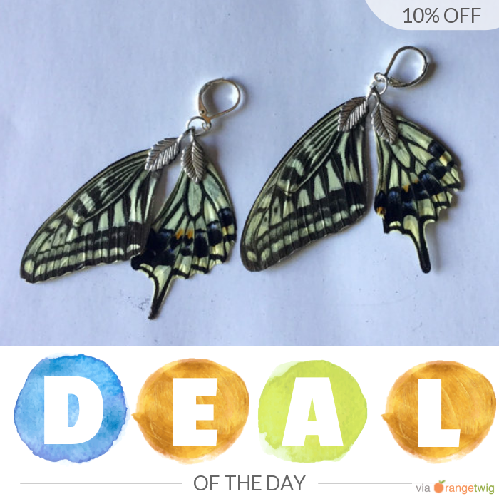 Today Only! 10% OFF this item.  Follow us on Pinterest to be the first to see our exciting Daily Deals. Today's Product: Mother's Day special exotic real butterfly wing earrings jewelry Buy now: https://orangetwig.com/shops/AAB4Fp4/campaigns/AACrkIZ?cb=2016006&sn=HeavenlyHaloBoutique&ch=pin&crid=AACrkHx&exid=276780174&utm_source=Pinterest&utm_medium=Orangetwig_Marketing&utm_campaign=Summer_sale   #etsy #etsyseller #etsyshop #etsylove #etsyfinds #etsygifts #musthave #loveit #instacool #shop…
