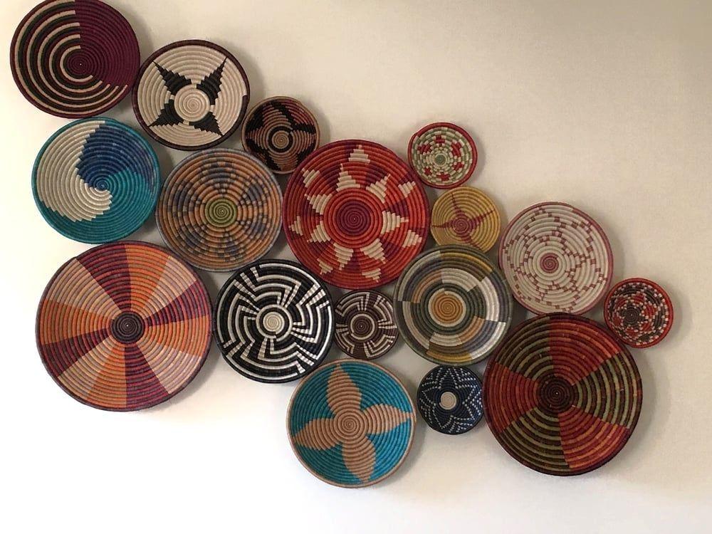 charming decoration woven basket wall art surprising on wall art decor id=40361