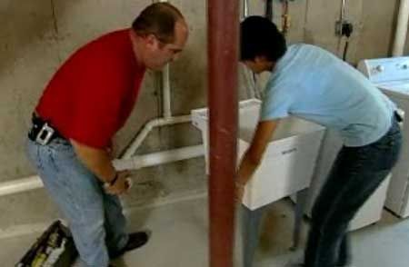How To Install A Utility Sink Utility Sink Diy Plumbing