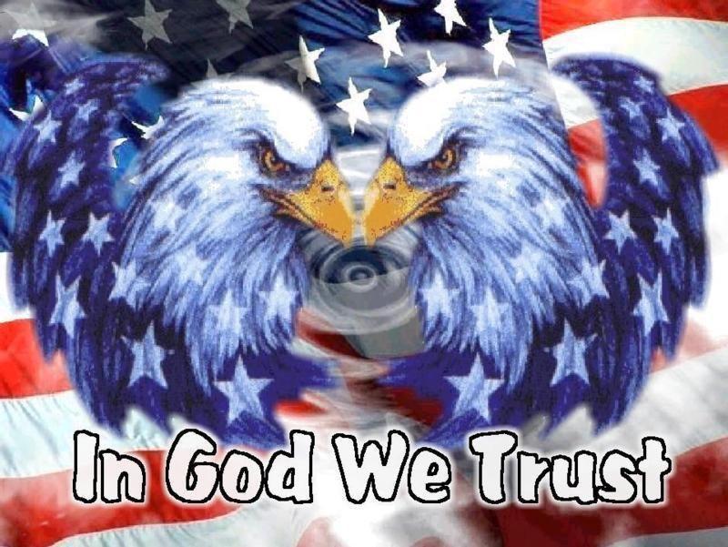Patriotic Eagle Clip Art
