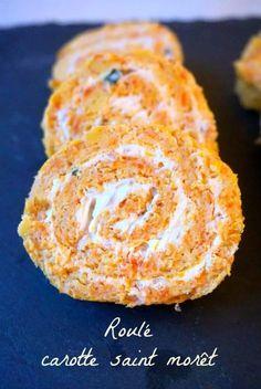 Roulé carottes saint moret échalote