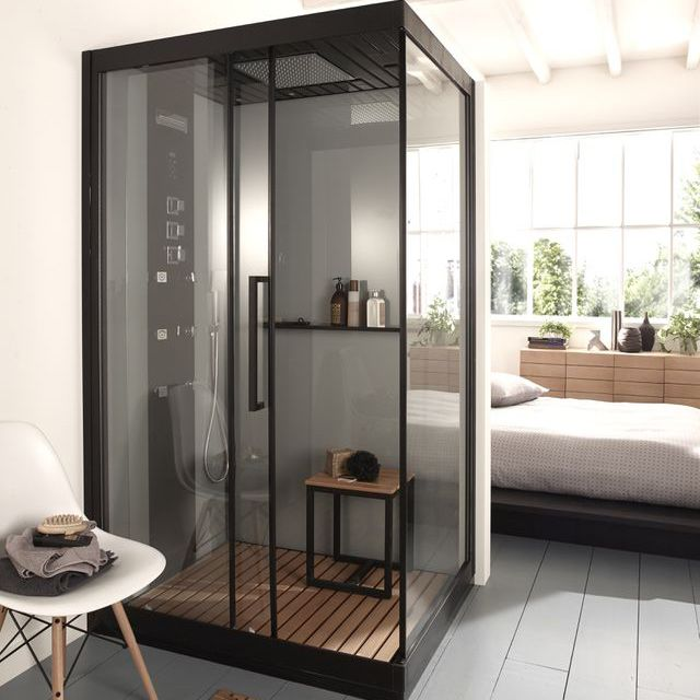 cabine de douche gelco izaro 120 x 90 cm pinterest. Black Bedroom Furniture Sets. Home Design Ideas