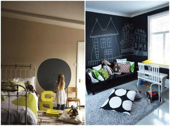 chambre-enfant-decoration-peinture-ardoise    cestquoicebruit