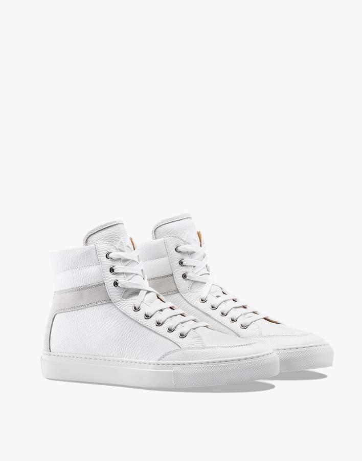 converse high top bianco