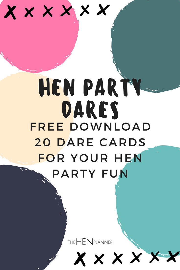 Hen Party Dares Check Out These Fun Dare Ideas For Your Night