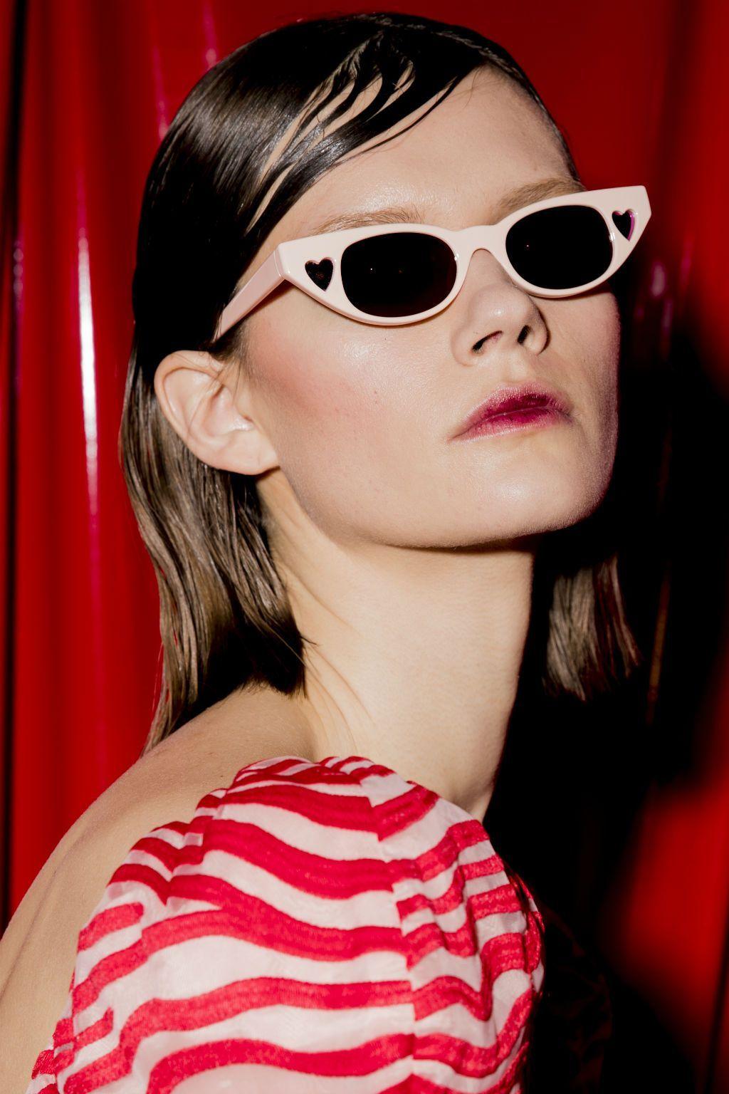 d2eb1a2b337f6 Adam Selman X Le Specs The Heartbreaker Cat-Eye Sunglasses
