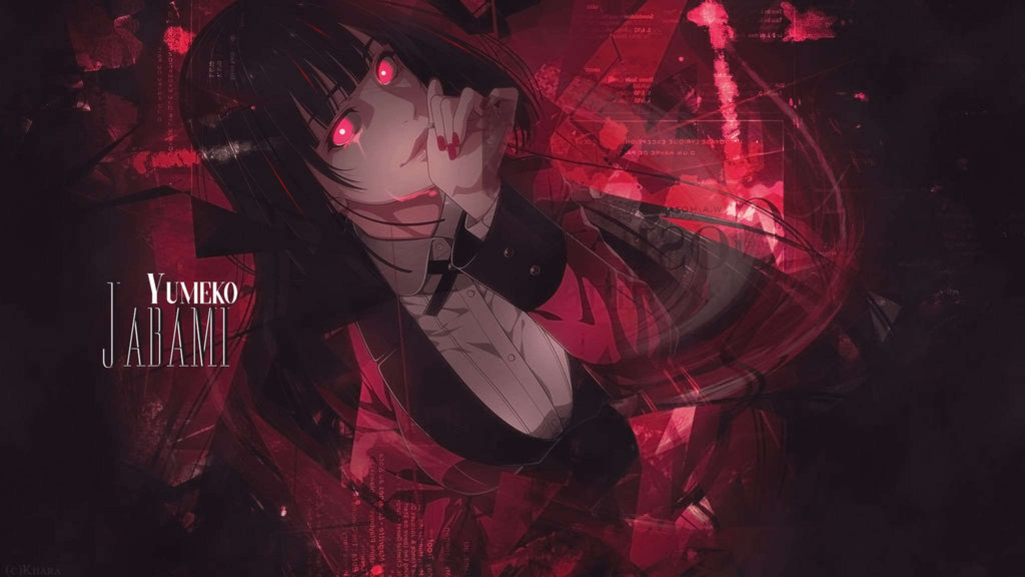 Wallpaper Kakegurui Yumeko Jabami By Kiiaralouto On Deviantart Anime Anime Wallpaper Aesthetic Anime