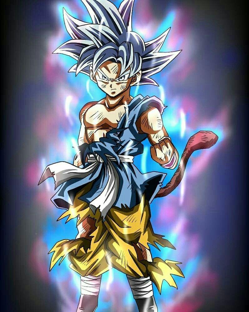 Goku Pequeno Fase Ultra Instinto Son Goku Super