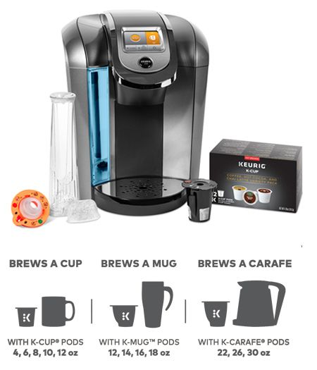 Keurig 2 0 K525c Brewer From Costco 99 On Sale W Reusable Filter