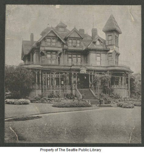 Fourth Home Of The Seattle Public Library 1899-1901 Henry