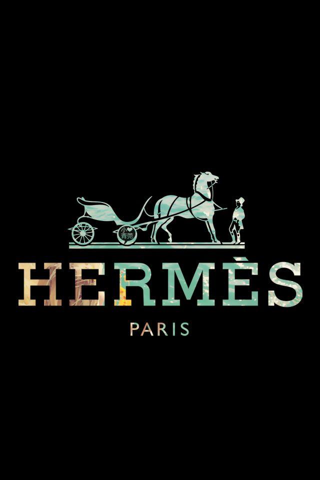 iPhone Hermes background/ www.shefabulous.se | iPHONE WALLIES ♡ | Pinterest  | Logos