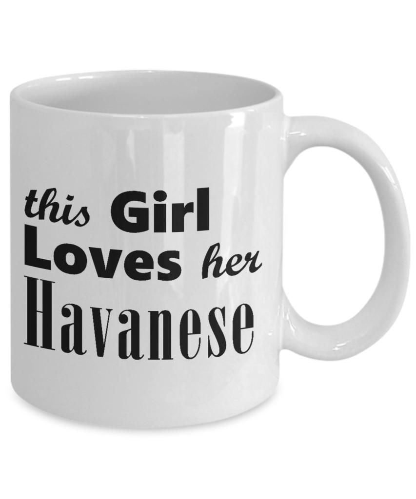 Havanese 11oz Mug Mugs, Shih poo, Havanese