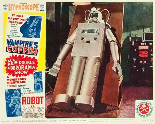 The Robot vs. The Aztec Mummy