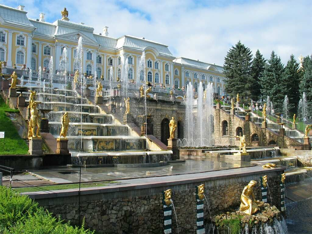 how to go to peterhof from st petersburg