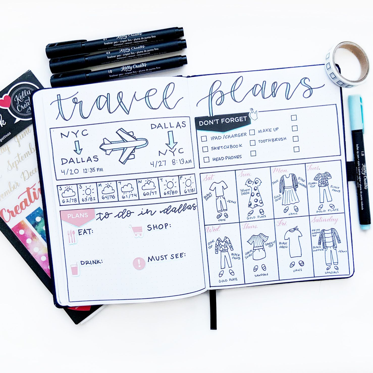 Photo of Organize Your Travel Plans in Your Journal