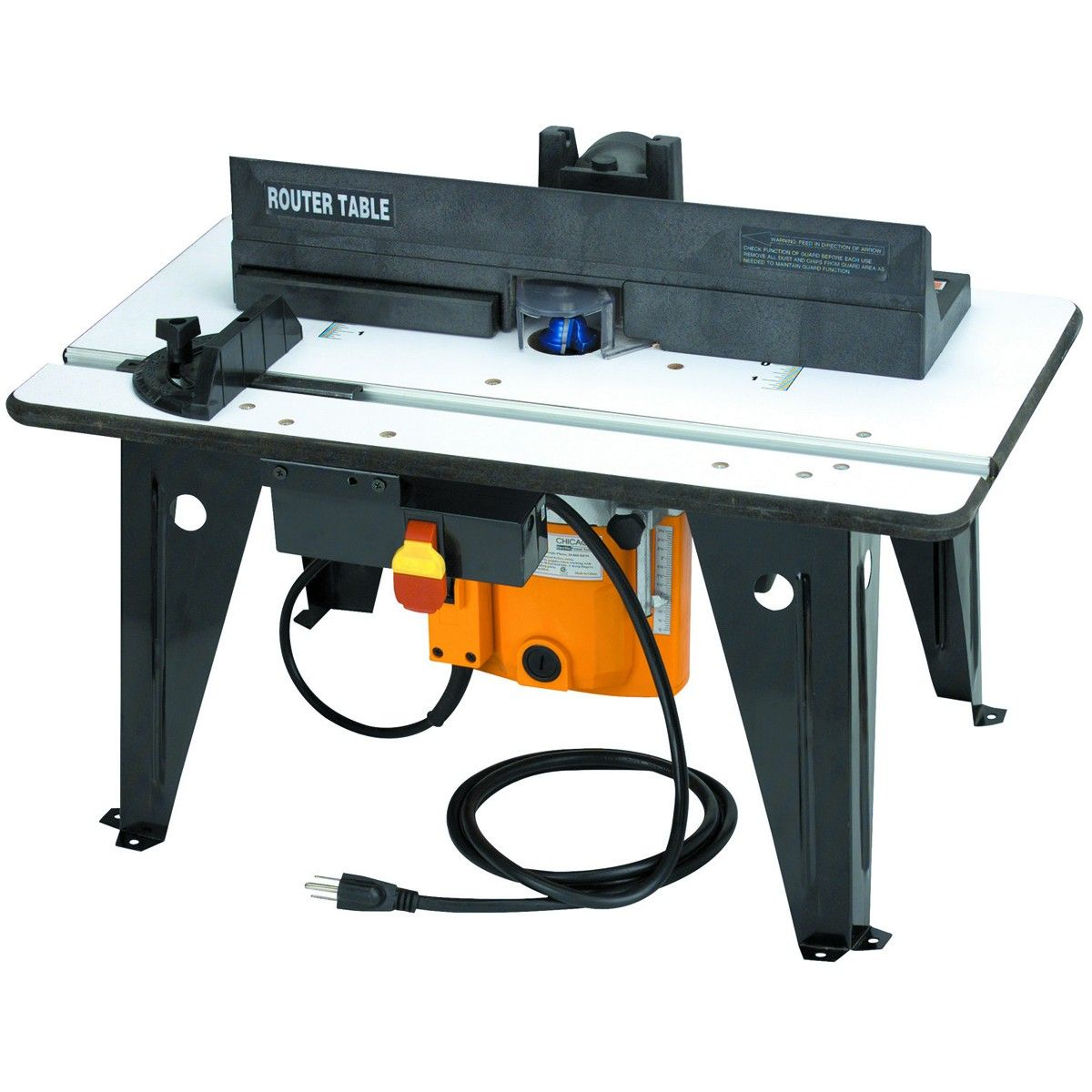 Benchtop Router Table Plans - Benchtop router table with 1 3 4 hp router