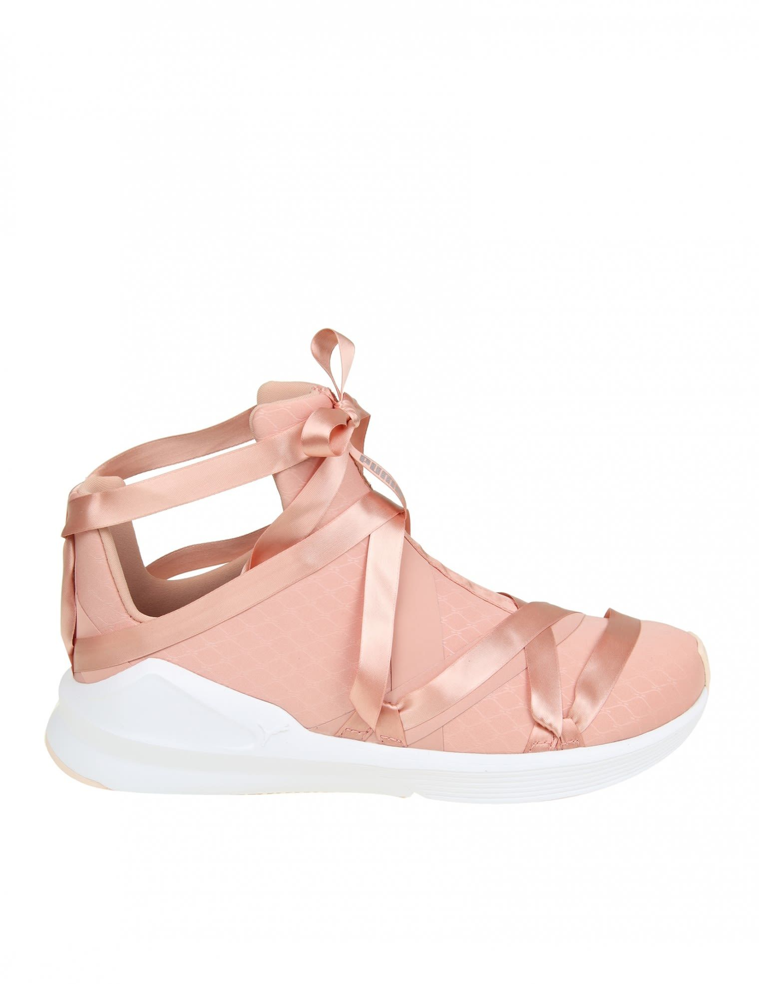 PUMA SNEAKERS FIERCE ROPE SATIN IN PINK FABRIC.  puma  shoes ... 864986474