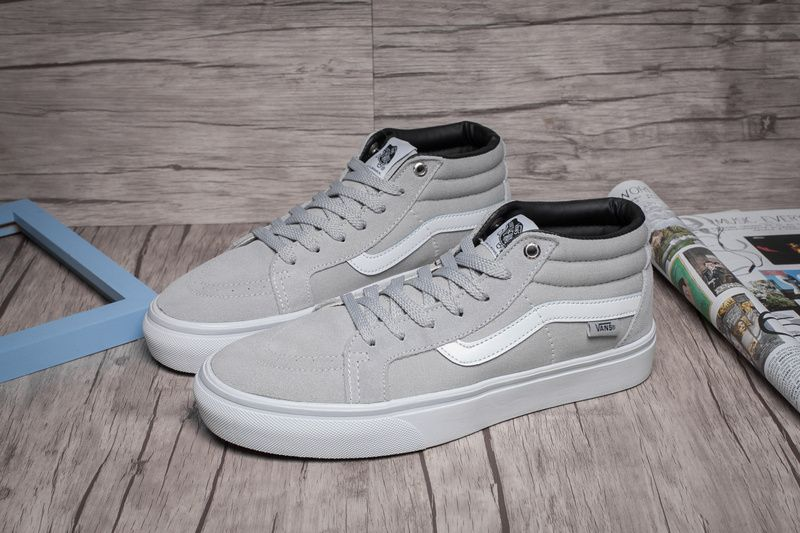 Vans SK8-Mid pro Violet Anti-counterfeit Brand Name Gray Model HK03 Code  Number 00e77f341