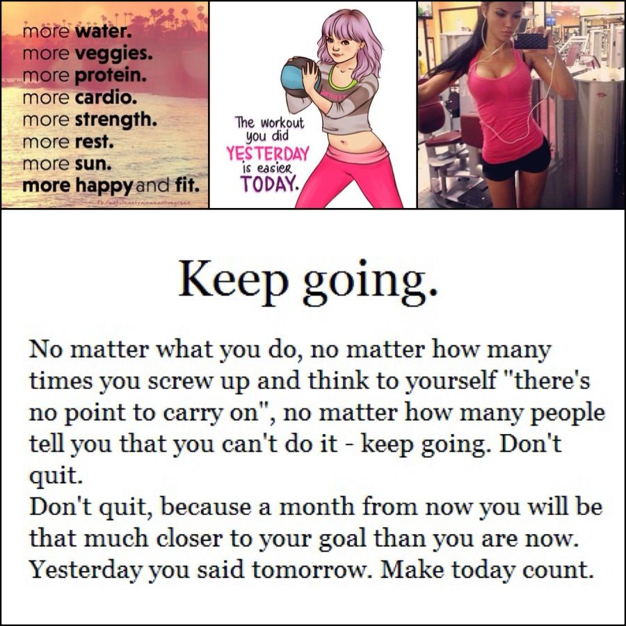 Hate starting over? Stop giving up !