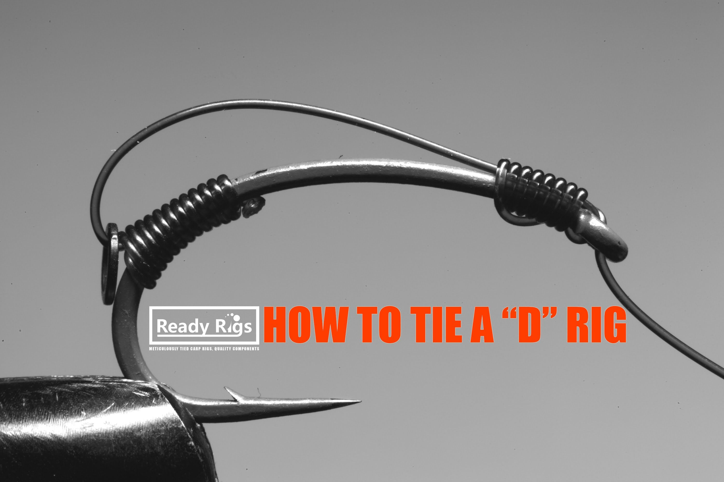 Knot Tying Diagrams Http Wwwfintalkcom Fishingknots Nailknot How To Tie The D Rig Demonstration Showing One Way Of Popular Used In Carp Fishing Popularised Korda Underwater 7