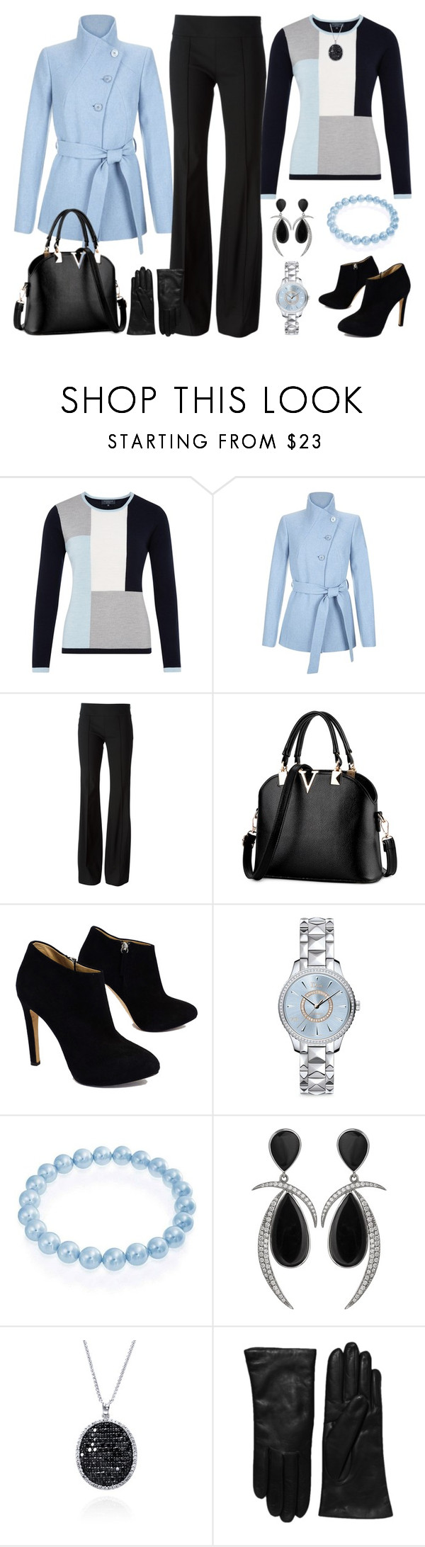Untitled #2877 by emmafazekas on Polyvore featuring Viyella, Hobbs, Michael Kors, Giuseppe Zanotti, Bling Jewelry, Christian Dior, Jorge Adeler, Effy Jewelry and Saks Fifth Avenue Collection